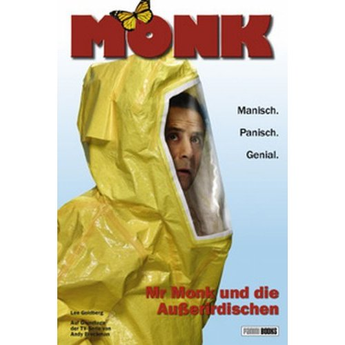 Monk in Outer Space German Cover