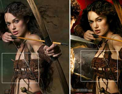 Defamer reveals that Keira Knightley's breasts were photographically